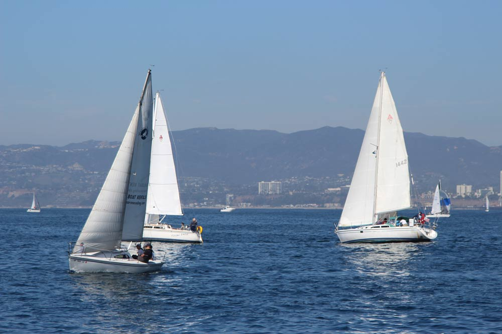 Sailing classes Los Angeles